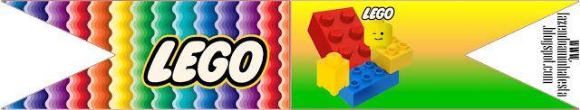 Lego – Kit Completo com molduras para convites, rótulos para guloseimas, lembrancinhas e imagens! | Fazendo a Nossa Festa