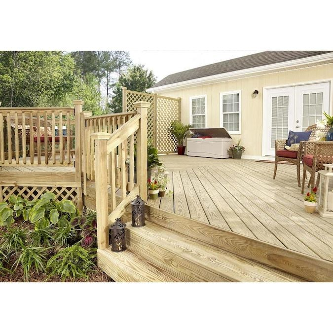 Severe Weather 2 In X 12 In X 16 Ft 2 Prime Pressure Treated Lumber Lowes Com In 2020 Severe Weather Treated Deck Boards Deck