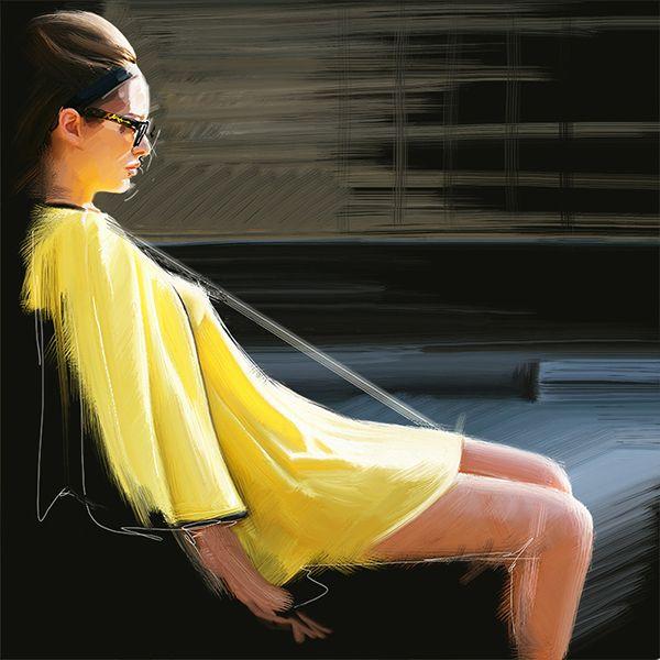 El impecable trabajo de Mustafa Soydan, noten la perfeccion de los trazos blancos sobre la imagen realista.