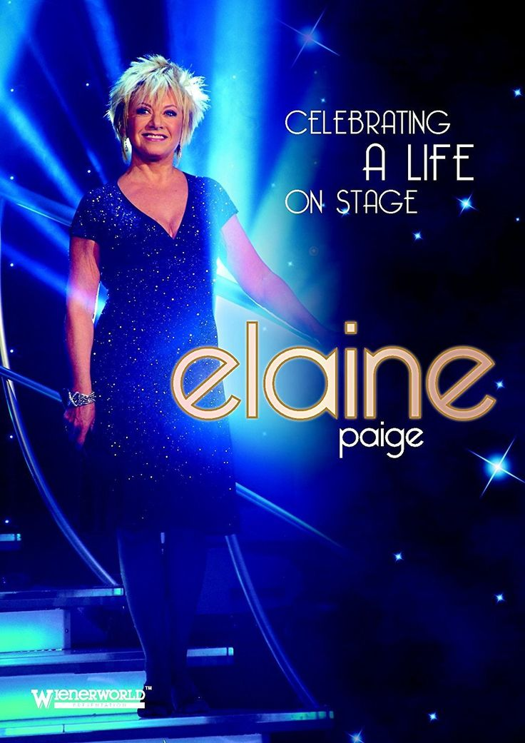 ELAINE PAIGE Celebrating A Life On Stage DVD 2013  #OneAsiaAllEntertainment #852Entertainment