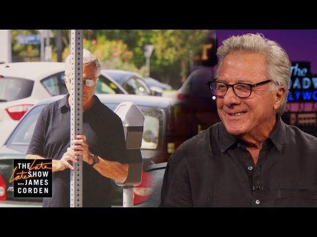 James asks Dustin Hoffman about his unique methods for avoiding the paparazzi's cameras.      https://www.youtube.com/watch?v=b1_WpLWIc2Q   #Carpool #CBS #celeb #Celebrities #Celebrity #colbert #Comedian #Comedy #Corden #Famous #funny #funny video #funny videos #hollywood #humor #impressions #James Corden #Joke #jokes #Karaoke #Late Late Show #late night #late night show #monologue #stephen colbert #The Late Late Show