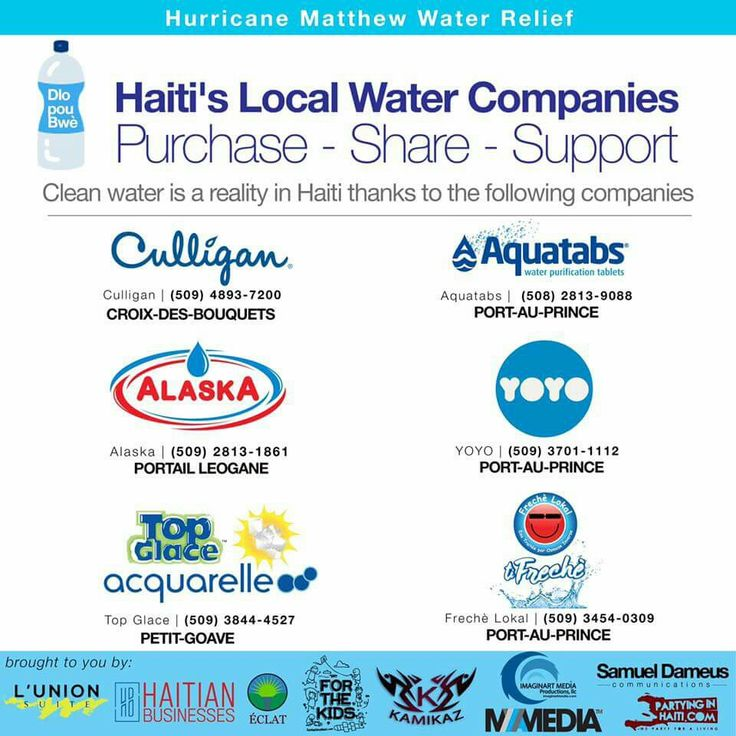 Haiti is ready to provide clean and safe water to those in need in the wake of Hurricane Matthew! Yes Local Companies have Water to serve the local population! Support local businesses!    Purchase! Share! Support!   #Haiti #CleanWater #HurricaneRelief #HurricaneMatthew #LocalBusinesses #YesHaitiCan #LunionFaitLaForce