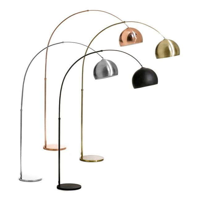 lampadaire arc eclat ampm la redoute mobile - Lampadaire Salon