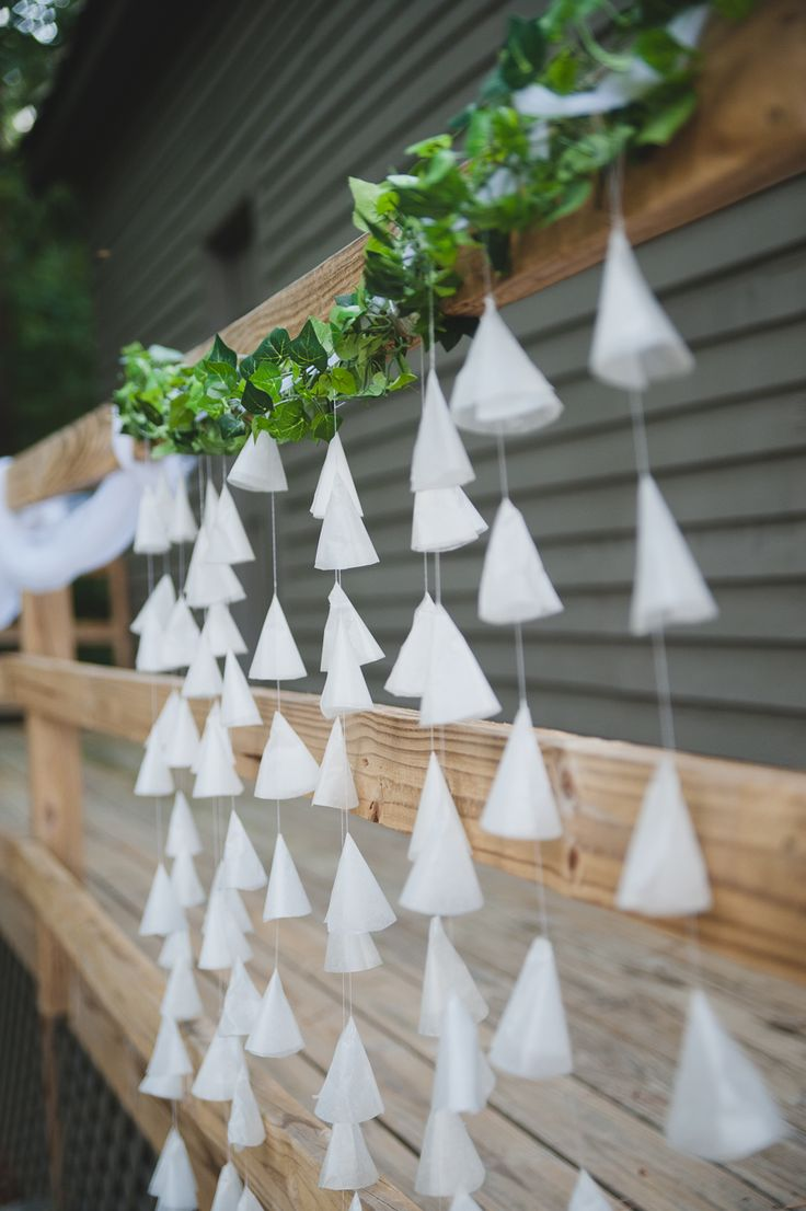 Diy Wedding Decorations Wax Paper Cone Details Vintage