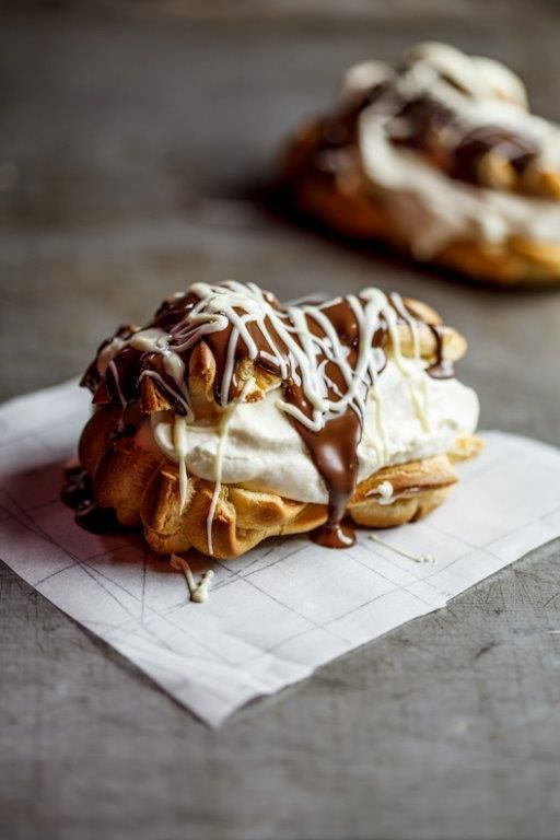 Competition finalist: Charlene Mathai. CHOCOLATE ECLAIRS. Vote for the recipe here: http://woolies.me/dEzy