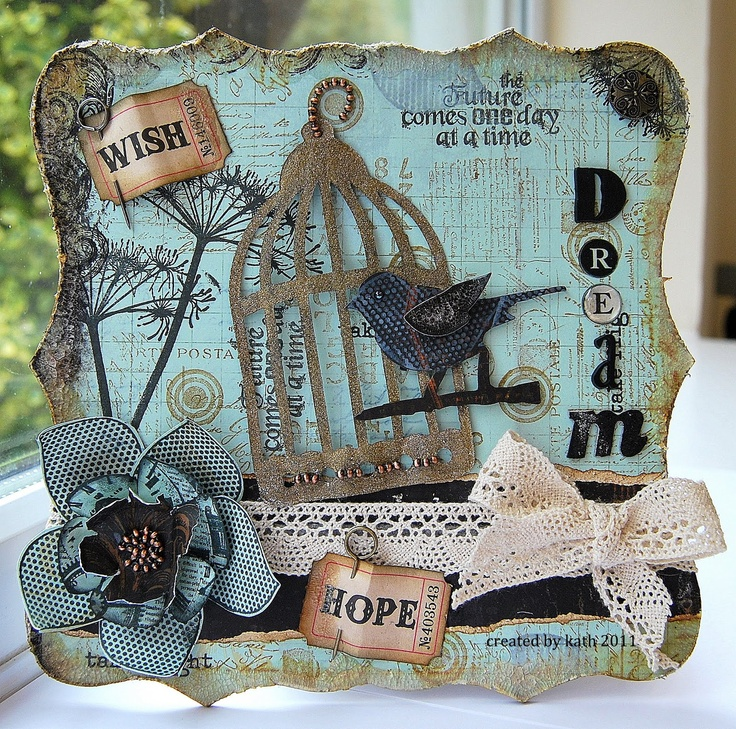 Kath's Blog......diary of the everyday life of a crafter: Naughty But Fun Project