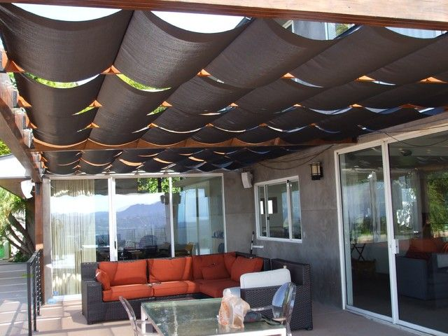 20 best blinds and curtains images on pinterest - Shaded Patio Ideas