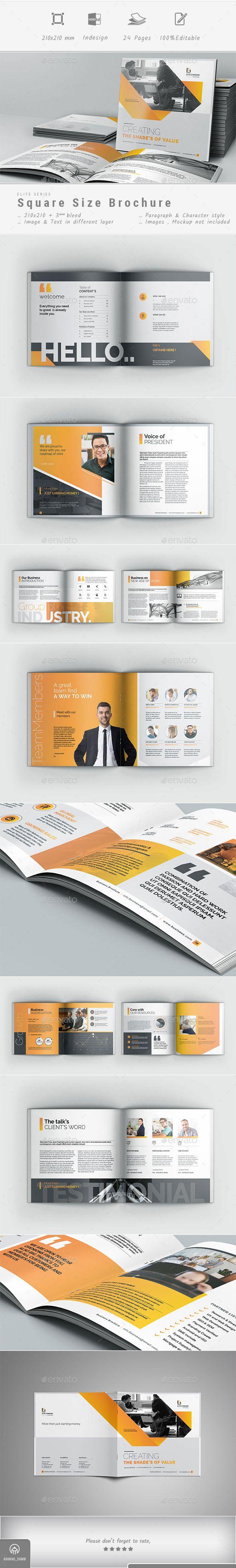 Brochure Template InDesign INDD