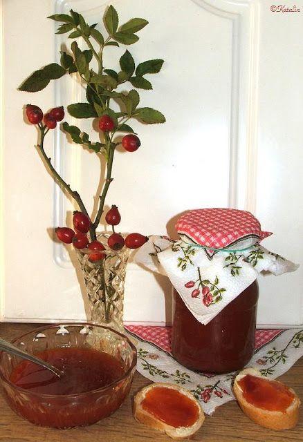 Katalin konyhája: Hecsedli (csipkebogyó) lekvár