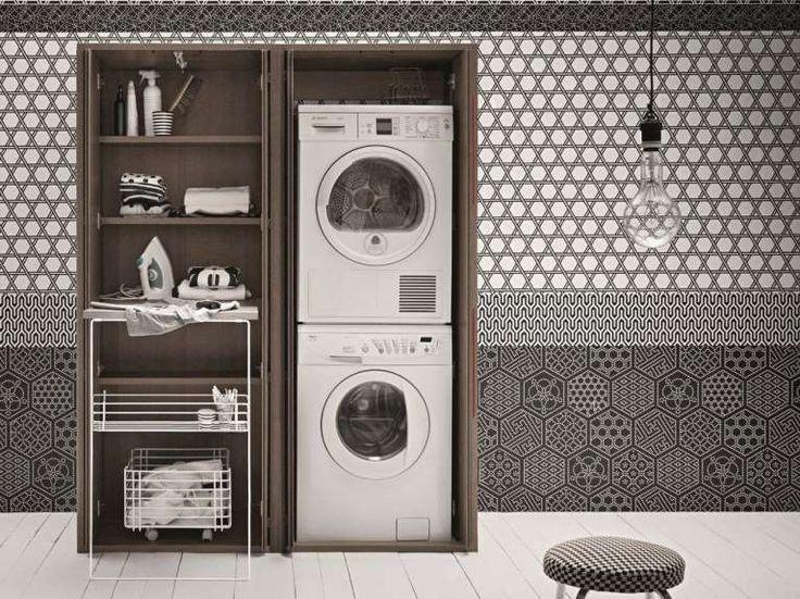 Mobili componibili per lavanderia (Foto) | Designmag