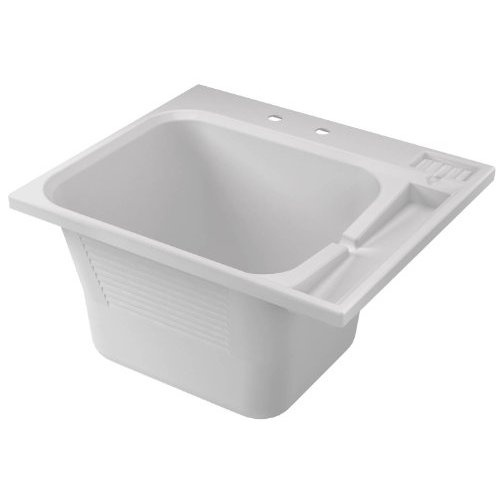 Drop-in laundry tub with washboard. Future/Someday/Dreaming Pinte ...