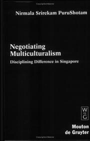 Purushotam, Nirmala Srirekam: Negotiating Multiculturalism