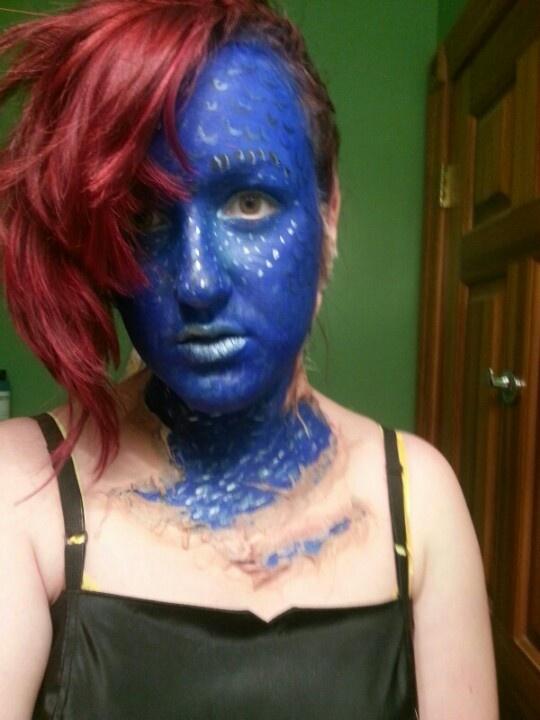 Mystique Makeup : pics