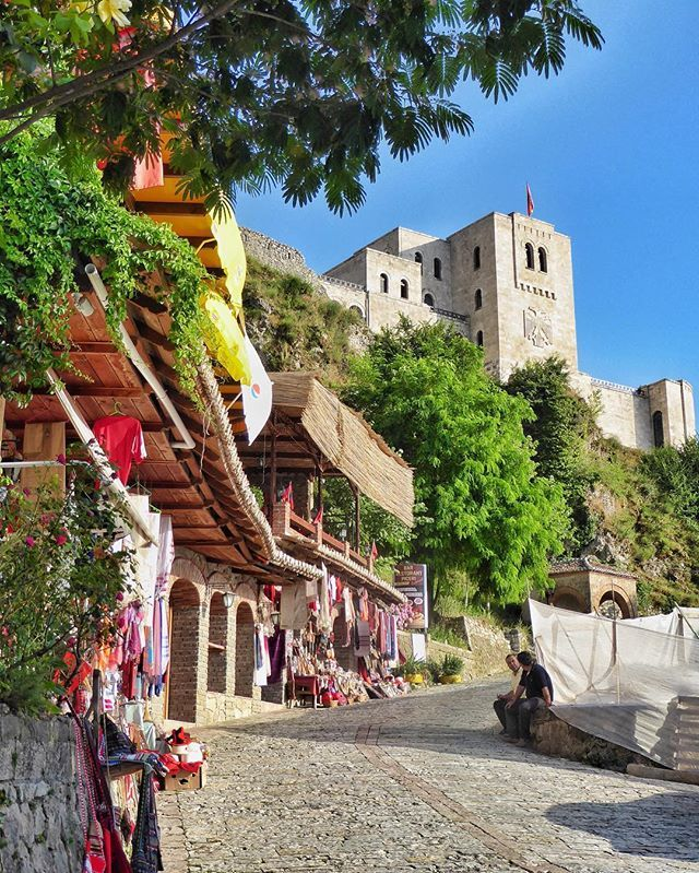 Kruja Castle and the Skanderbeg Museum - Kruja, Albania  Located a short…