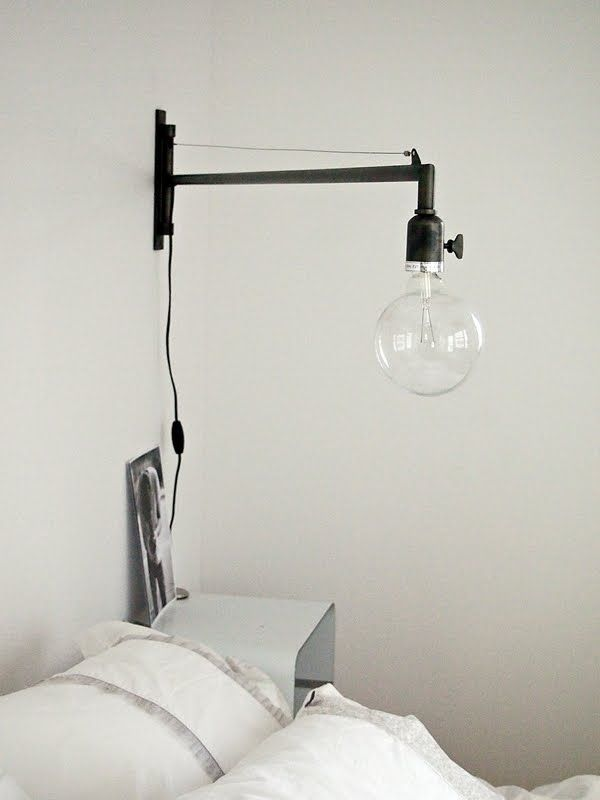 Lulu loves for my master bedroom if I was on the Block - that beautiful oversized bedside light