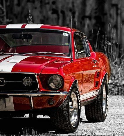 1967 Ford Mustang Red S-Code Fastback II