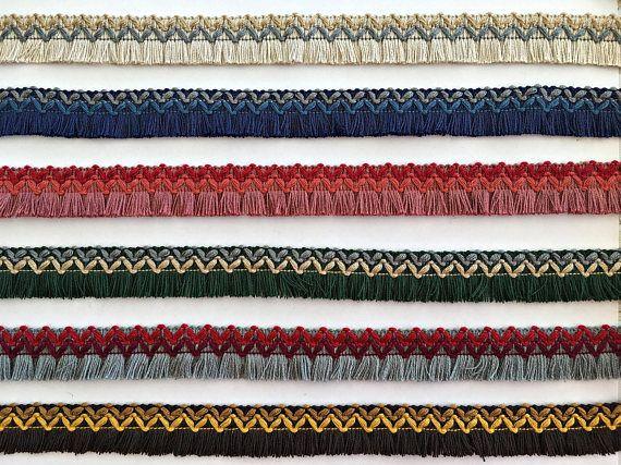 Ethno-Stil Fringe Trim trimmt für DIY-Anpassung Boho-Stil