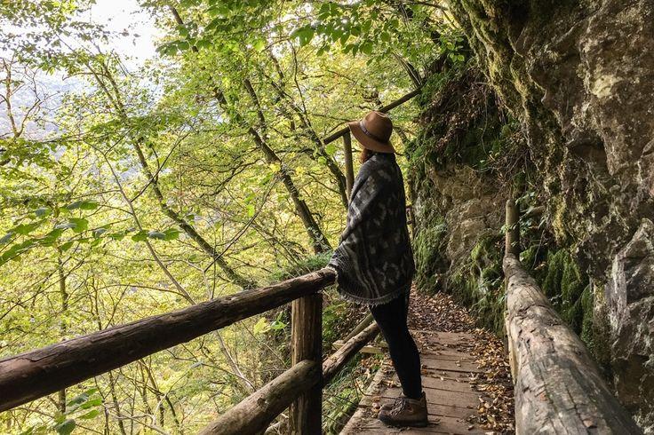 Der Lieserpfad, den ich mir für meine Trekking Tour in Deutschland ausgesucht habe, führt mich in zwei Tagen durch einen sehr ursprünglichen Teil der Eifel.