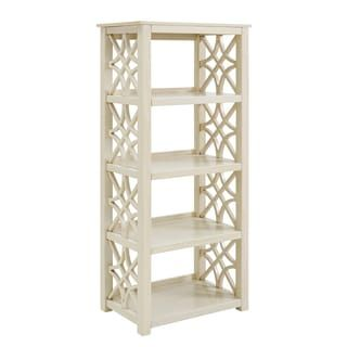 Shop For Willow Antique White Bookcase Get Free Shipping At