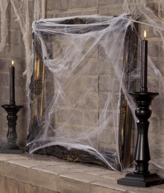 Schöne Weinlese-Halloween-Dekor-Ideen 5
