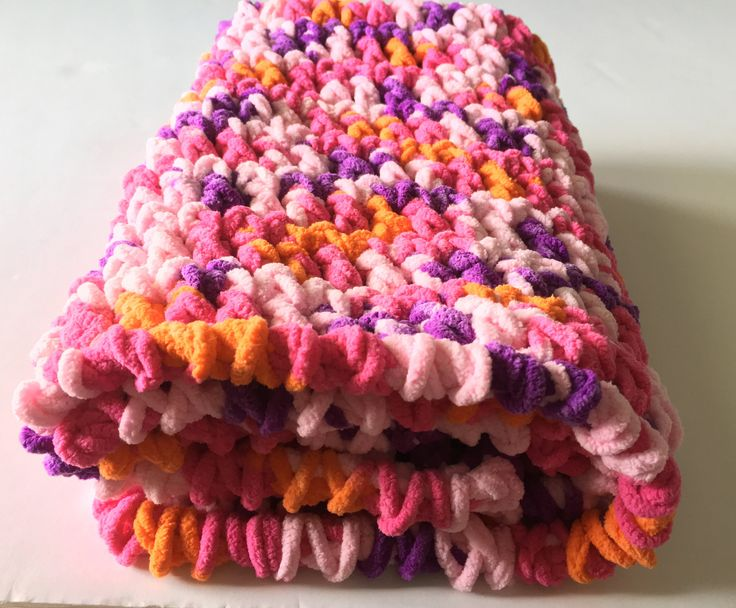 Pink Baby Blanket, Crochet Baby Blanket, Car Seat Blanket, Purple Blanket, Baby Girl Blanket, Handmade Blanket, Baby Shower Gift, Photo Prop by CraftCreationsbyRose on Etsy
