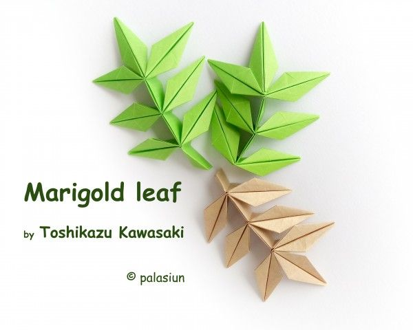 396 best origami leaves images on pinterest leaves
