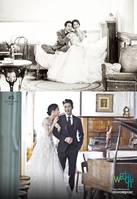 곽한구·장범준·박정철 4월 결혼 스타 웨딩화보