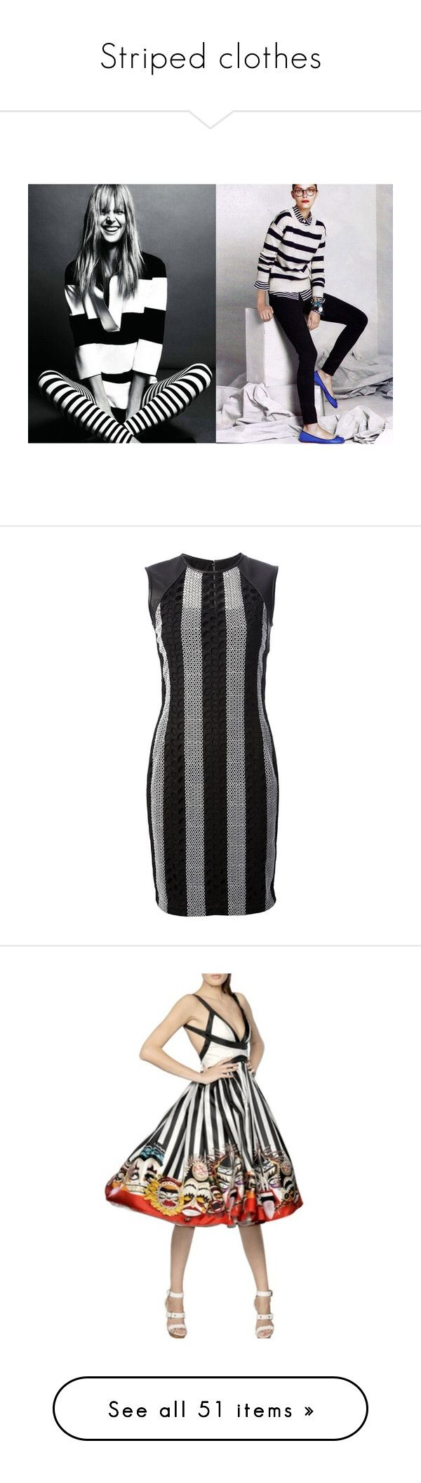 """""""Striped clothes"""" by mssantos ❤ liked on Polyvore featuring shorts, women, black cuffed shorts, stripe shorts, black shorts, striped shorts, polka dot shorts, tops, blouses and multi color"""