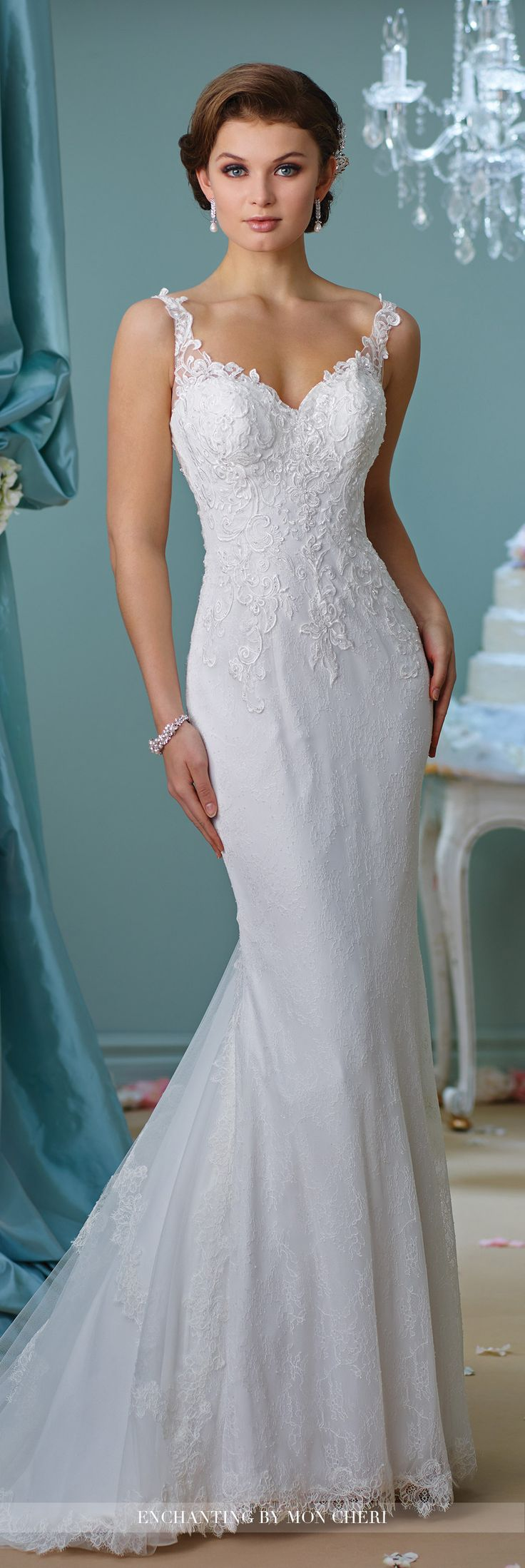 Best 25 lace wedding gowns ideas on pinterest lace for Wedding dresses with dramatic backs