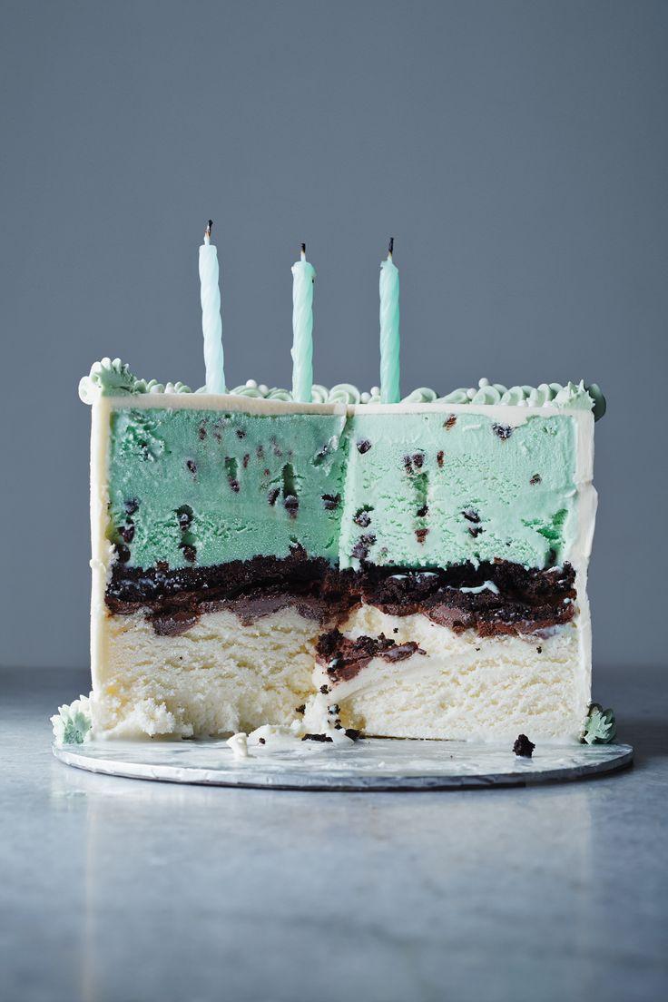 Classic Ice Cream Cake by kinfolk #Cake #Ice_Cream