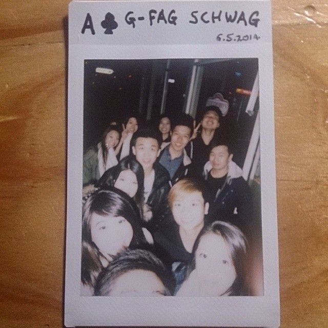 52 cards in a deck // 52 weeks in a year. Goodberry's group outing with the whole extended asian friendship group. #asian #polaroid #photochallenge #photography