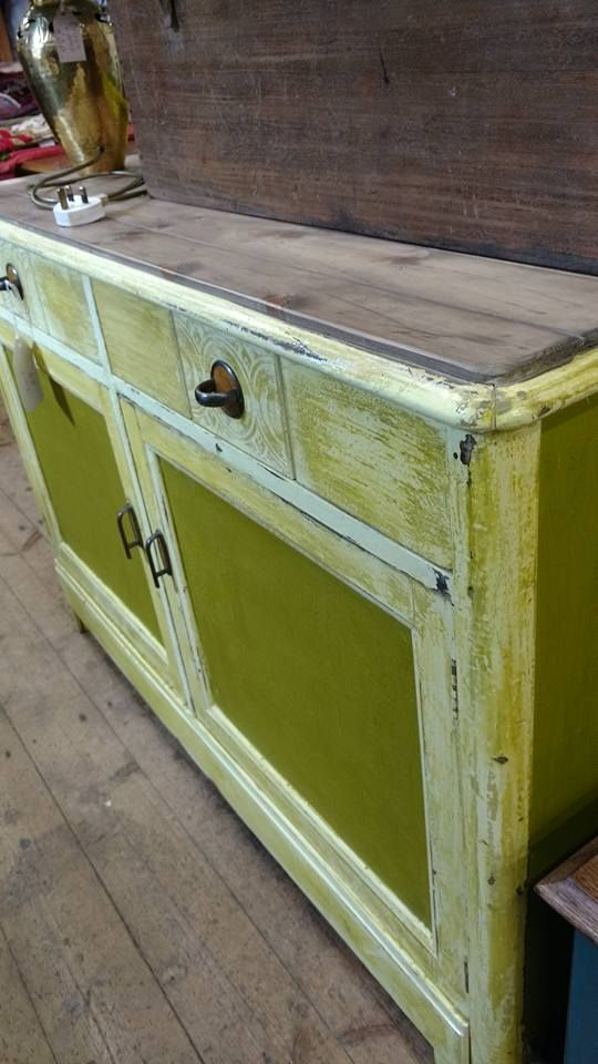 Malthouse | Vintage Painted pine sideboard