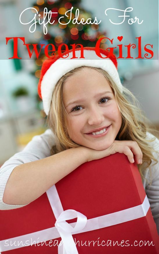 Stuck on what to buy for the 8-12 year old girls in your life? These ideas will help you finish your shopping quickly without worrying if she'll like it! Creative & fun, you won't break the bank or see any frowns with these presents! Gift Ideas For Tween Girls, perfect for Christmas, birthday, or any occasion that almost teen needs a gift!  sunshineandhurricanes.com