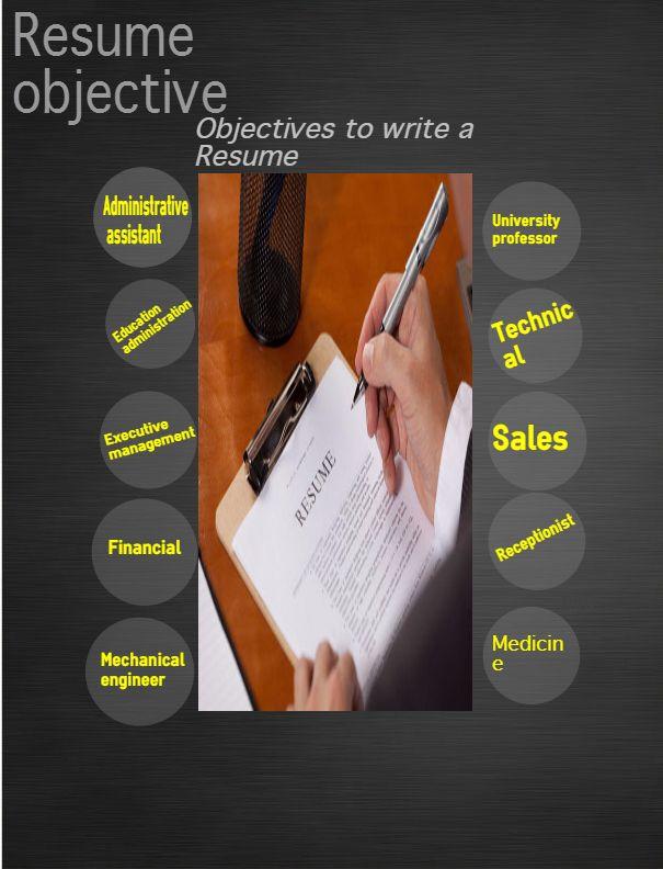 Přes 25 nejlepších nápadů na téma Good Resume Objectives na Pinterestu - writing resume objectives