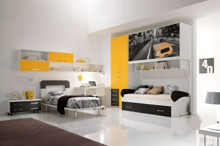 WEB: bedrooms furnishing solutions that integrate easily order without monotony; draw in space logical thinking young. http://www.spar.it/sp/it/arredamento/proposta-web-51.3sp?cts=camerette_web