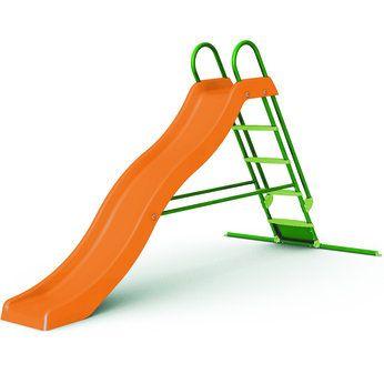 9ft Giant Slide Orange Green Garden Fun Pinterest