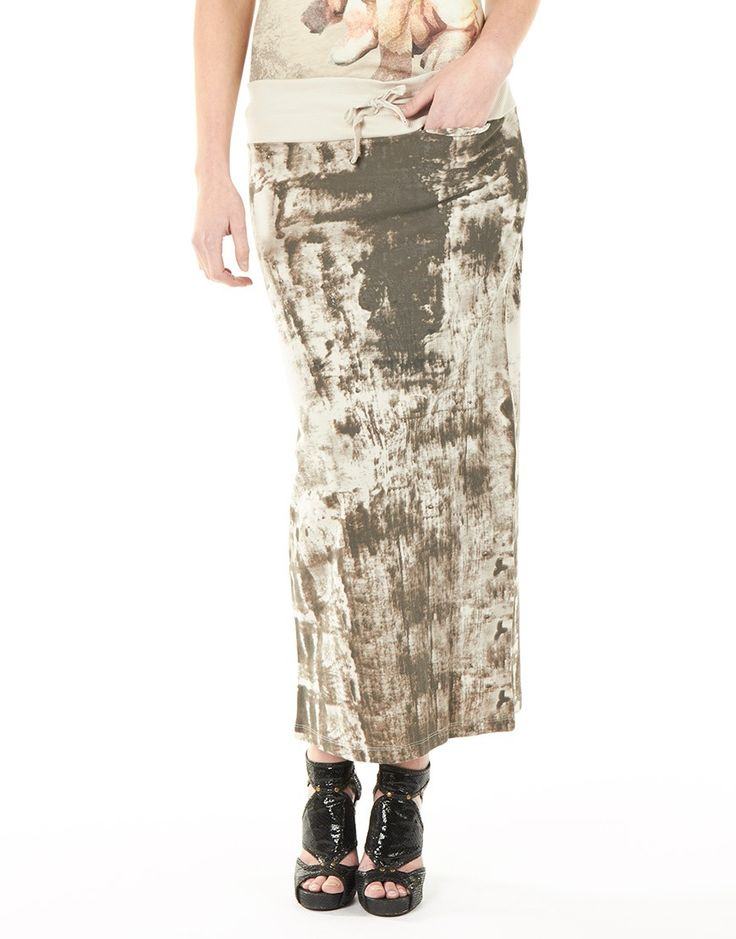 Rok - Long Tie Dye White Sand, Penn & Ink