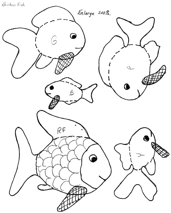 Rainbow fish lesson plan book activities book lists for Rainbow fish lesson plans