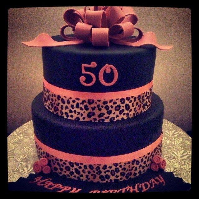 Strange 34 Pretty Image Of Cheetah Print Birthday Cakes Animal Print Personalised Birthday Cards Veneteletsinfo