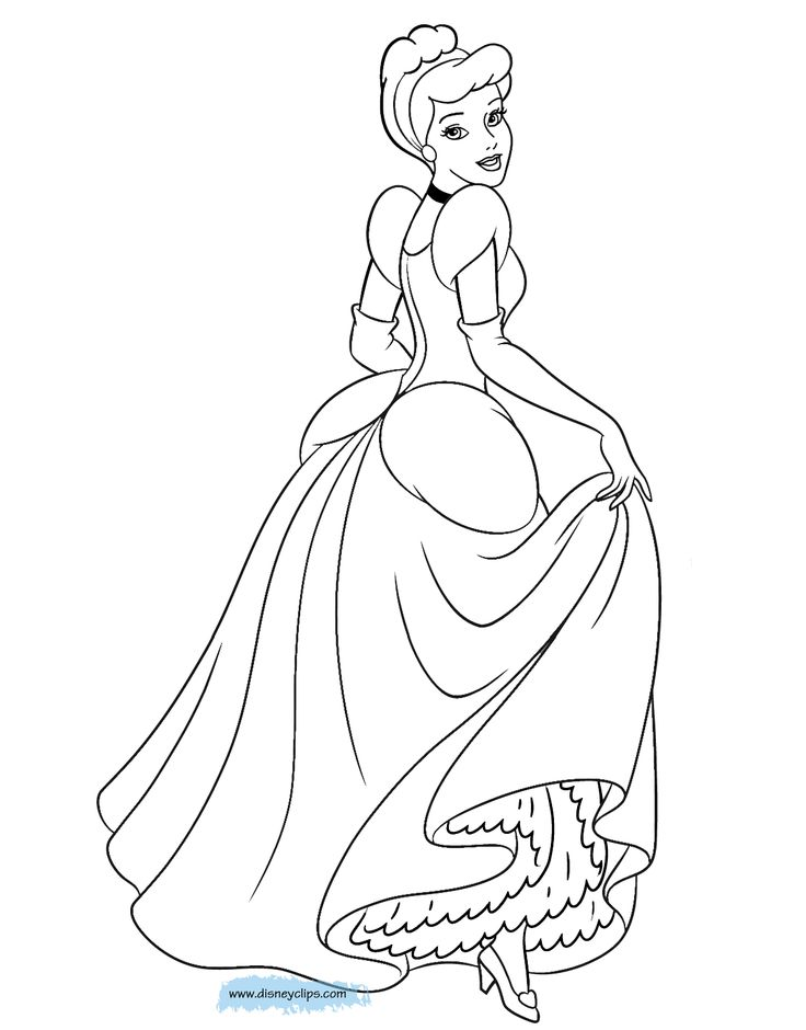 30 best Cinderella images on Pinterest Coloring books