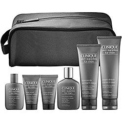 "The Clinique ""For Men"" skin care line- always a male favorite...believe me, every bf has been very appreciative ;)"