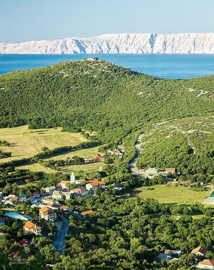Ledenice and Ledenice Gradina - near Novi Vinodolski