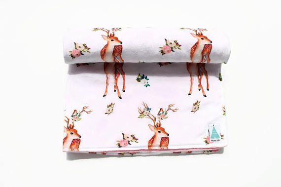 Fawn Baby Blanket  #minitipi