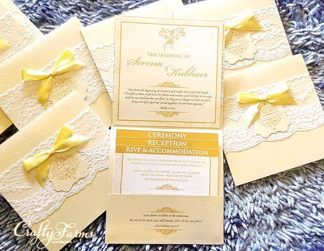 386 best Handmade Wedding Card and Favours images on Pinterest - best of wedding invitation card kota kinabalu