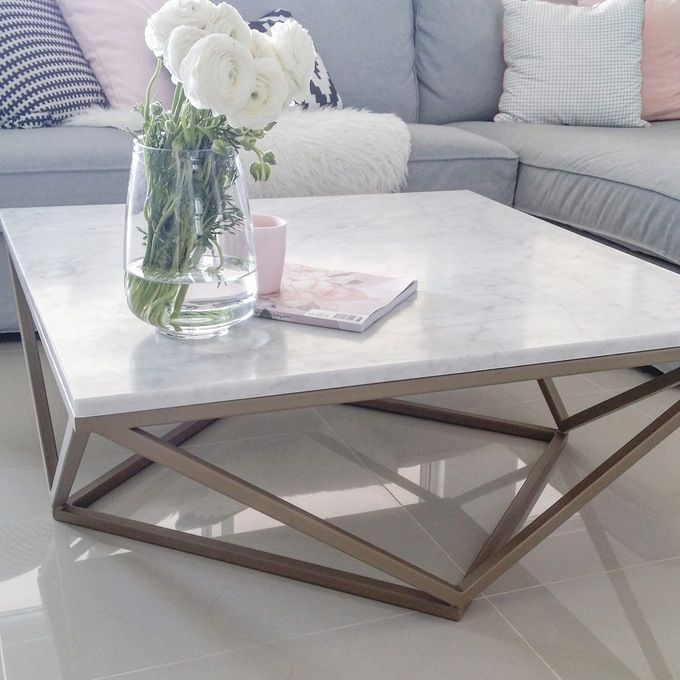 Marble Coffee table from @stylecode_collective