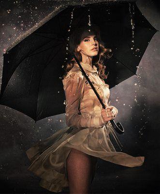 lana del rey - in the rain