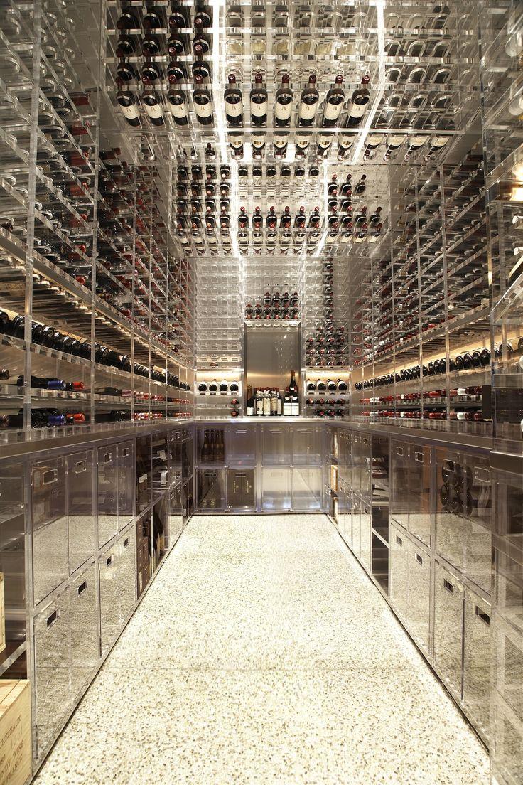 Etienne de souza designer and manufacturer of luxury cabinet - Wine Cellar Vault