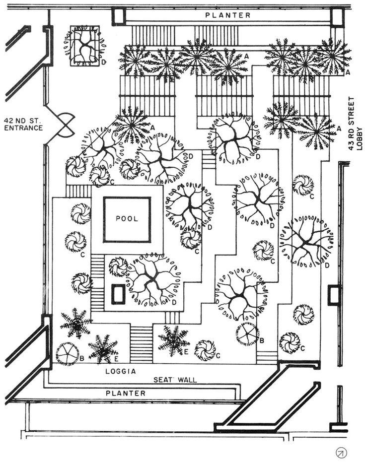 Japanese Garden Drawing Plan