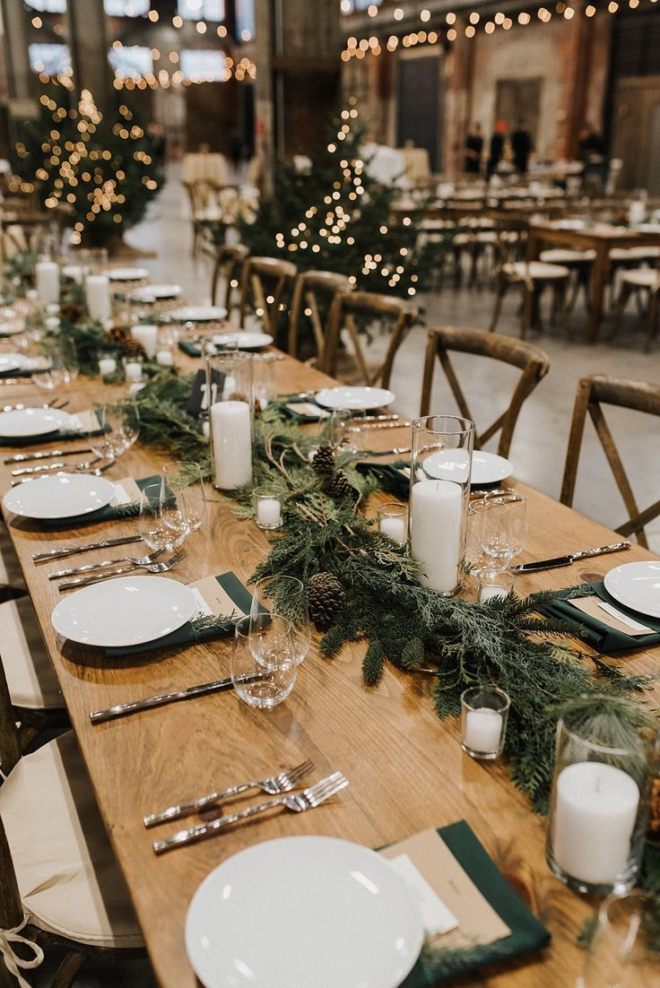 Dinner In Downtown Portland Maine Christmas Day 2020 51 Charming Winter Wedding Decorations | Wedding Forward in 2020