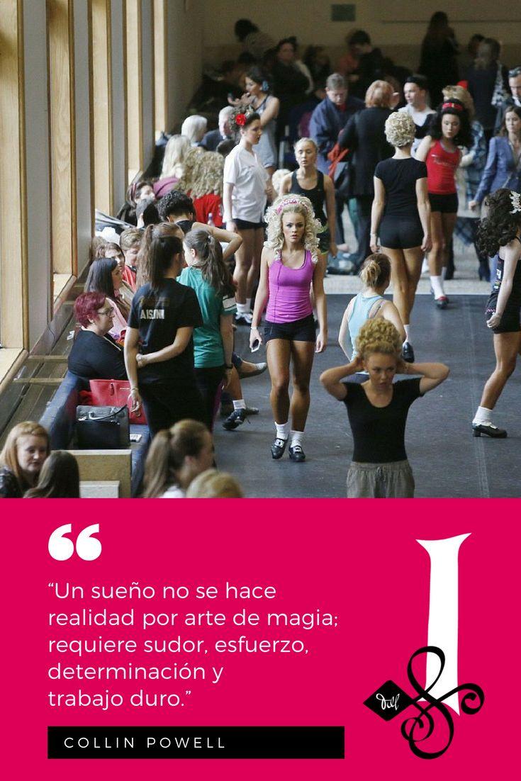 """📜 """"Un sueño no se hace realidad  por arte de magia; requiere sudor,  esfuerzo, determinación y trabajo duro.""""  🍀 — Collin Powell. 🖋  👉 #Citas #DanzaIrlandesa  💚 #InishfreeMexico™ 🇲🇽 #TaniaMartínez 🍀 #InishfreePedregal 🇲🇽 #InishfreeToluca 👯 #Quotes #IrishDance  📸 #Photo: AP"""